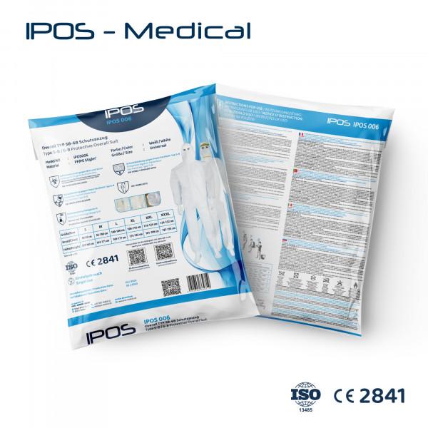 Overall TYP 5B/6B Schutzanzug IPOS-006 PP/PE