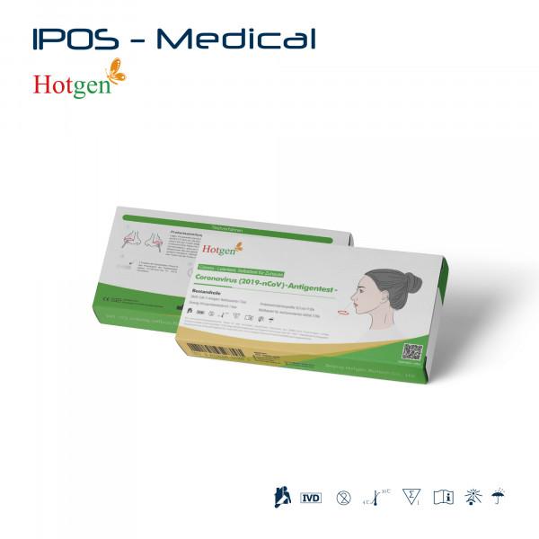 1er Pack Hotgen Antigentest Nasal für Laien Eigenanwendung